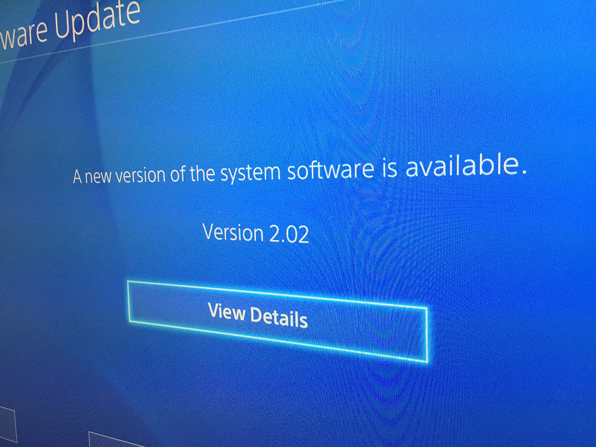 how to delete system software on ps4