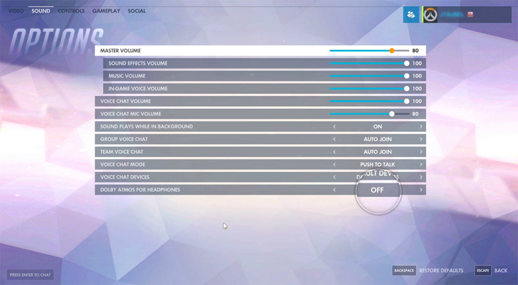 Dolby Atmos On Xbox One and Windows 10 - Overwatch Supported
